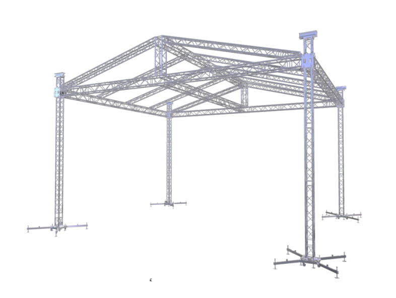 TAF Truss Aluminium | ROOF-2 10x8m | Roofs