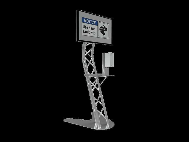 TAF Truss Aluminium | Sanitizer Stand SD10 | Sanitizer Stands