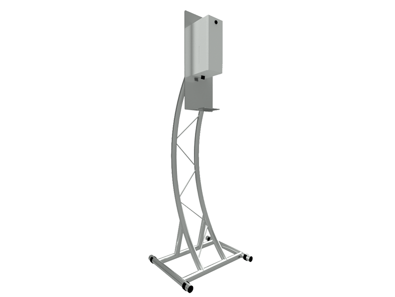 TAF Truss Aluminium | Sanitizer Stand SD30 | Sanitizer Stands
