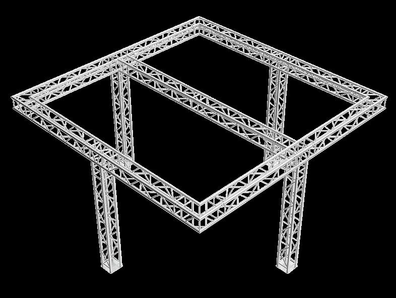 TAF Truss Aluminium   5350   Exhibit designs