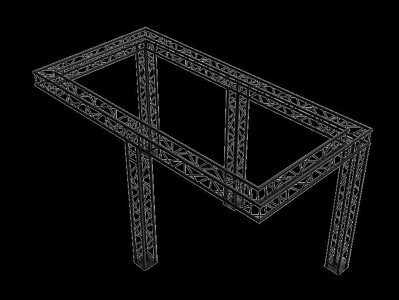 TAF Truss Aluminium | 5250B | Exhibit designs