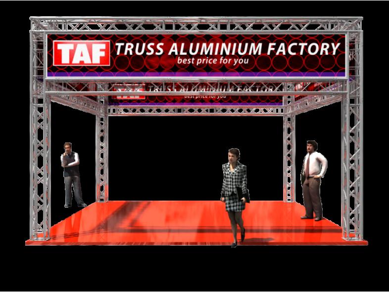TAF Truss Aluminium   5301   Exhibit designs