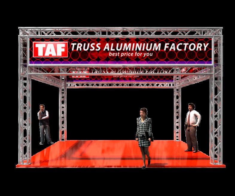 TAF Truss Aluminium | Exhibit designs