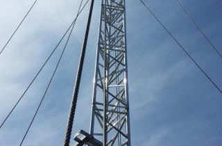 CoW 25m mast